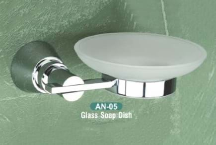 Glass Soap Dish AN - 05