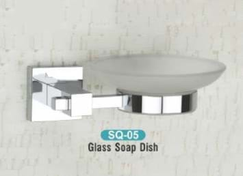 Glass Soap Dish SQ - 05