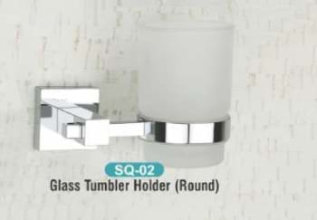 Glass Tumbler Holder Round SQ - 02