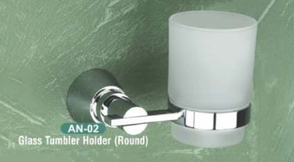 Glass Tumbler Holder Round AN - 02