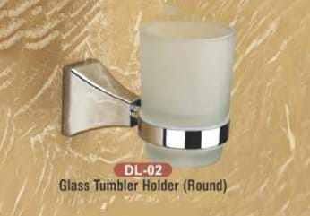 Glass Tumbler Holder Round DL - 02