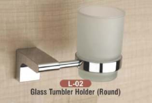 Glass Tumbler Holder Round L - 02