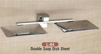 Double Soap Dish Sheet L - 04