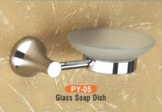 Glass Soap Dish PY - 05