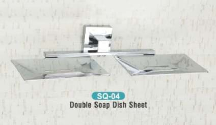 Double Soap Dish Sheet SQ - 04