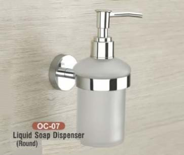 Liquid Soap Dispenser Round OC - 07