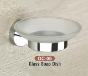 Glass Soap Dish OC - 05
