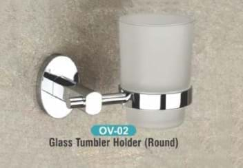 Glass Tumbler Holder Round OV - 02