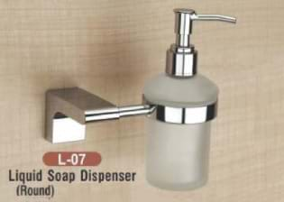 Liquid Soap Dispenser Round L - 07