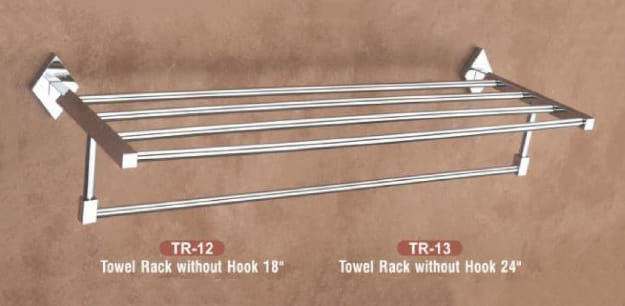 Towel Rack without hook TR - 12-13