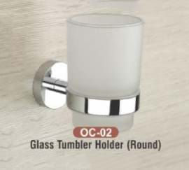 Glass Tumbler Holder Round OC - 02