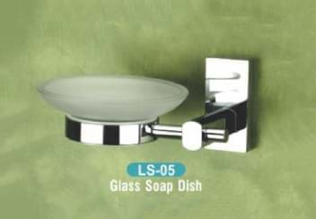 Glass Soap Dish LS - 05