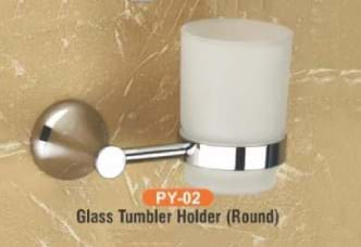 Glass Tumbler Holder Round PY - 02