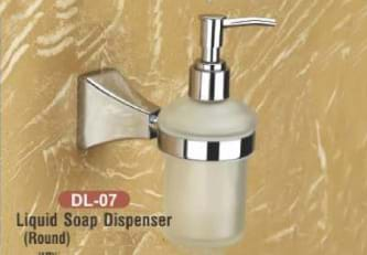 Liquid Soap Dispenser Round DL - 07