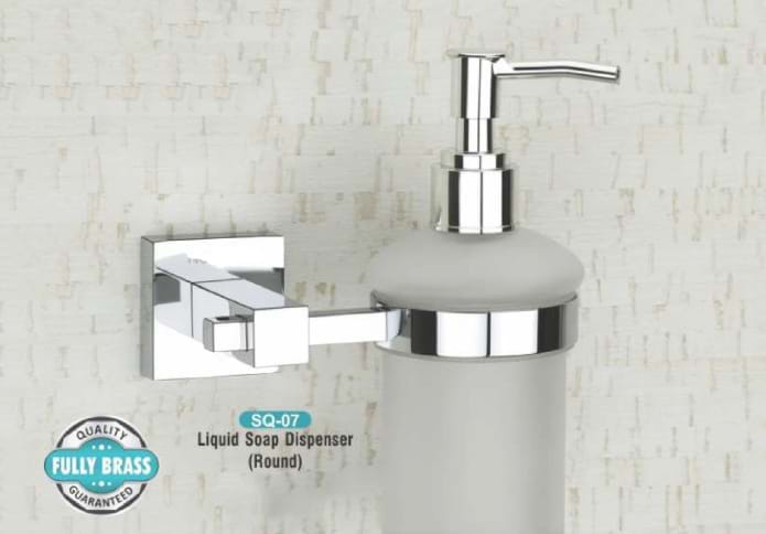 Liquid Soap Dispenser Round SQ - 07