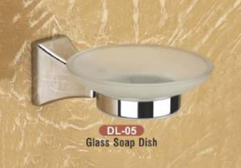 Glass Soap Dish DL - 05